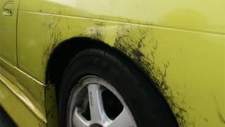 ボディに付いたタイヤの跡を落とす方法ってある?【クリーティングコート相談室】