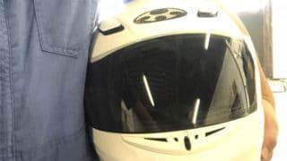 バイクのヘルメットにもピッチレスコートは使えますか?【クリーティングコート相談室】