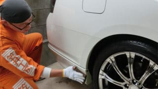 洗車に利き手・利き腕・利き足は関係無しです