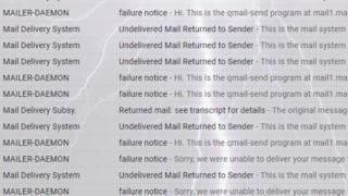 キャリアメール宛の送信エラーが後を絶ちません…