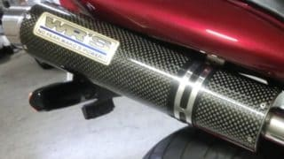 バイクのマフラーにピッチレスコートは使える?【クリーティングコート相談室】